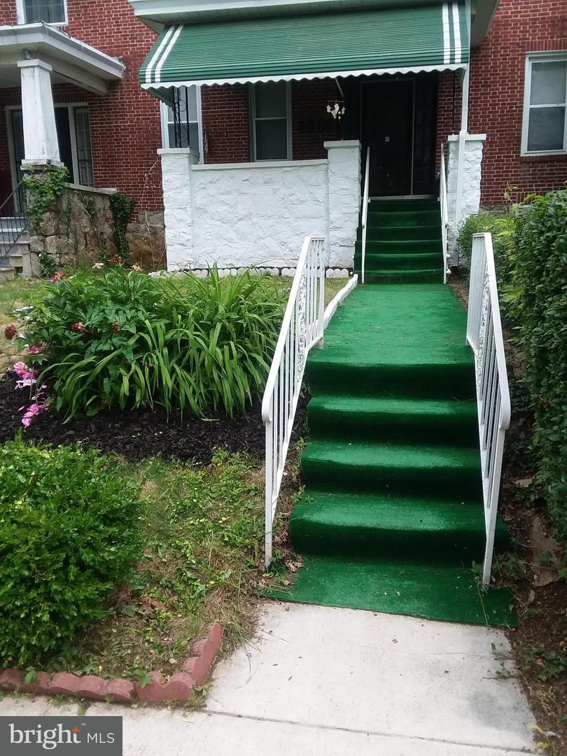 Single Family for Sale at 4008 Bonner Rd NW Baltimore, Maryland 21216 United States