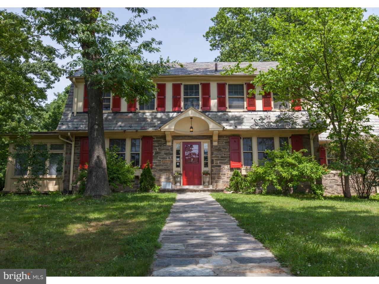 Maison unifamiliale pour l Vente à 1462 WHEATSHEAF Lane Abington, Pennsylvanie 19001 États-Unis
