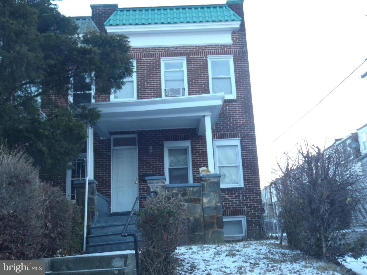Single Family for Sale at 2837 Presbury St Baltimore, Maryland 21216 United States