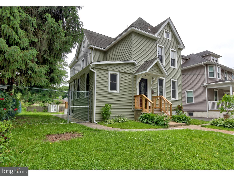 Einfamilienhaus für Verkauf beim 212 W PINE Street Audubon, New Jersey 08106 Vereinigte Staaten