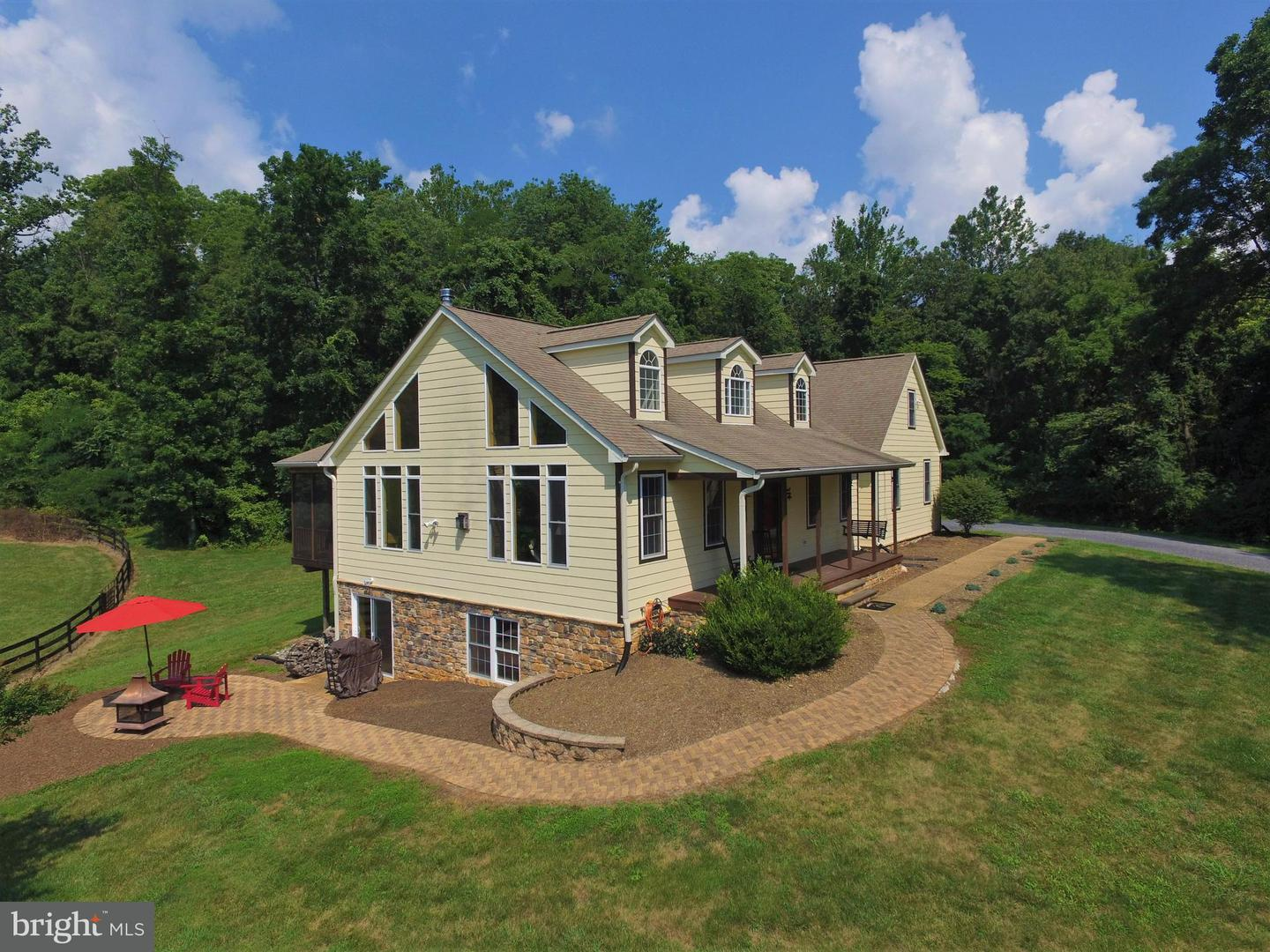 Farm for Sale at 41 Old Browntown Ln Huntly, Virginia 22640 United States