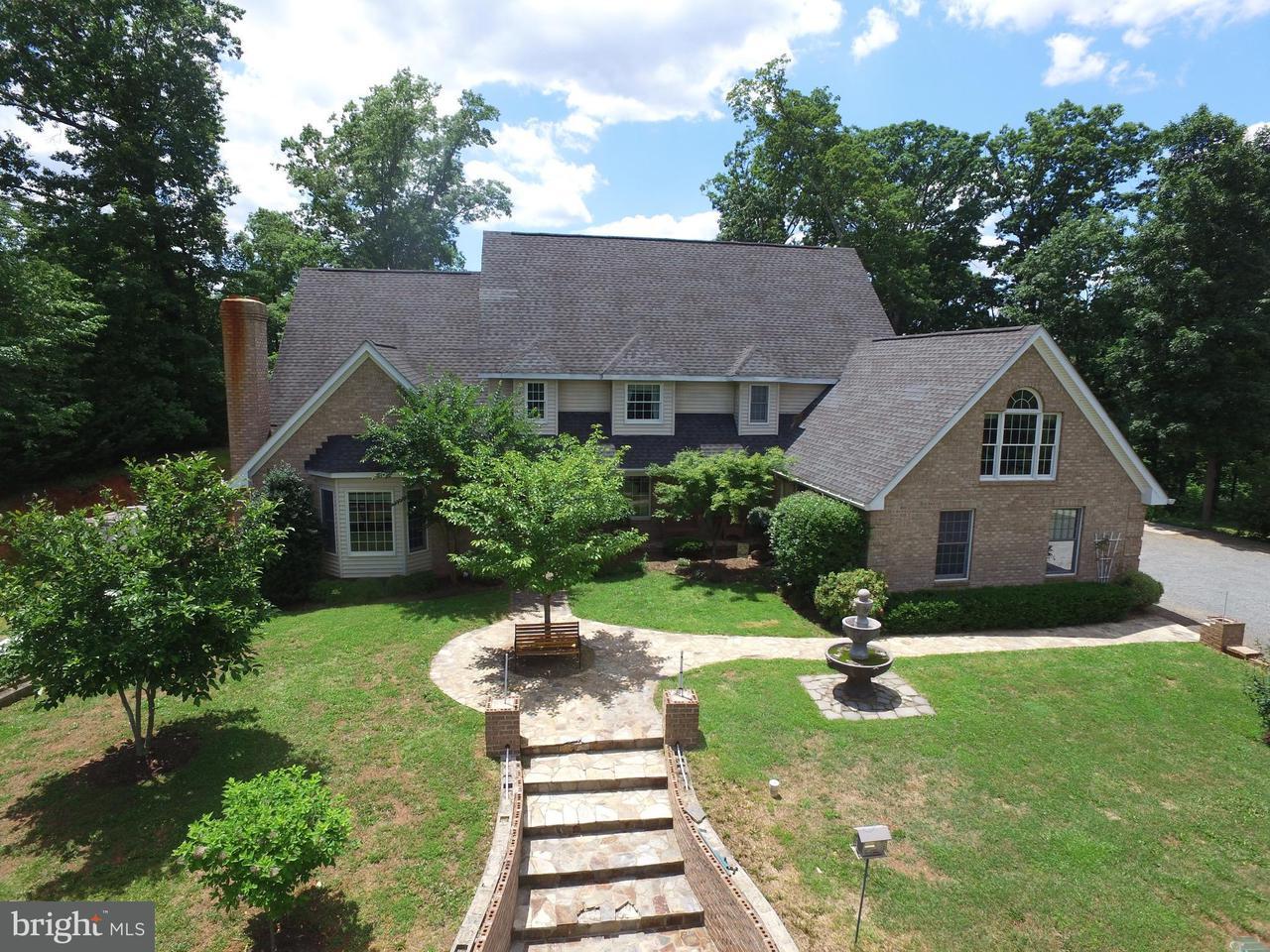 단독 가정 주택 용 매매 에 10952 Mountain Run Lake Road 10952 Mountain Run Lake Road Culpeper, 버지니아 22701 미국