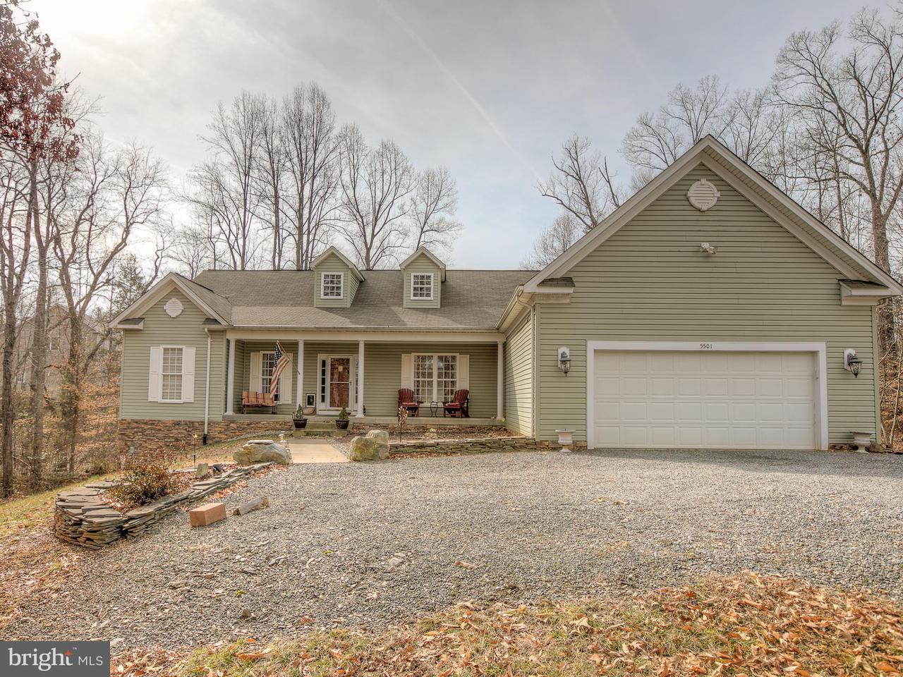 Maison unifamiliale pour l Vente à 5501 Oak Court 5501 Oak Court Mineral, Virginia 23117 États-Unis