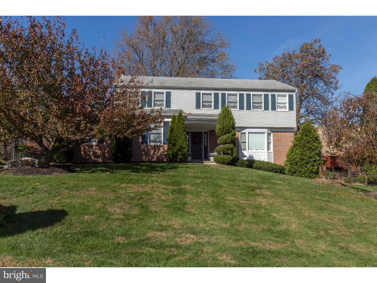 Частный односемейный дом для того Продажа на 100 ACADEMY Lane Broomall, Пенсильвания 19008 Соединенные Штаты