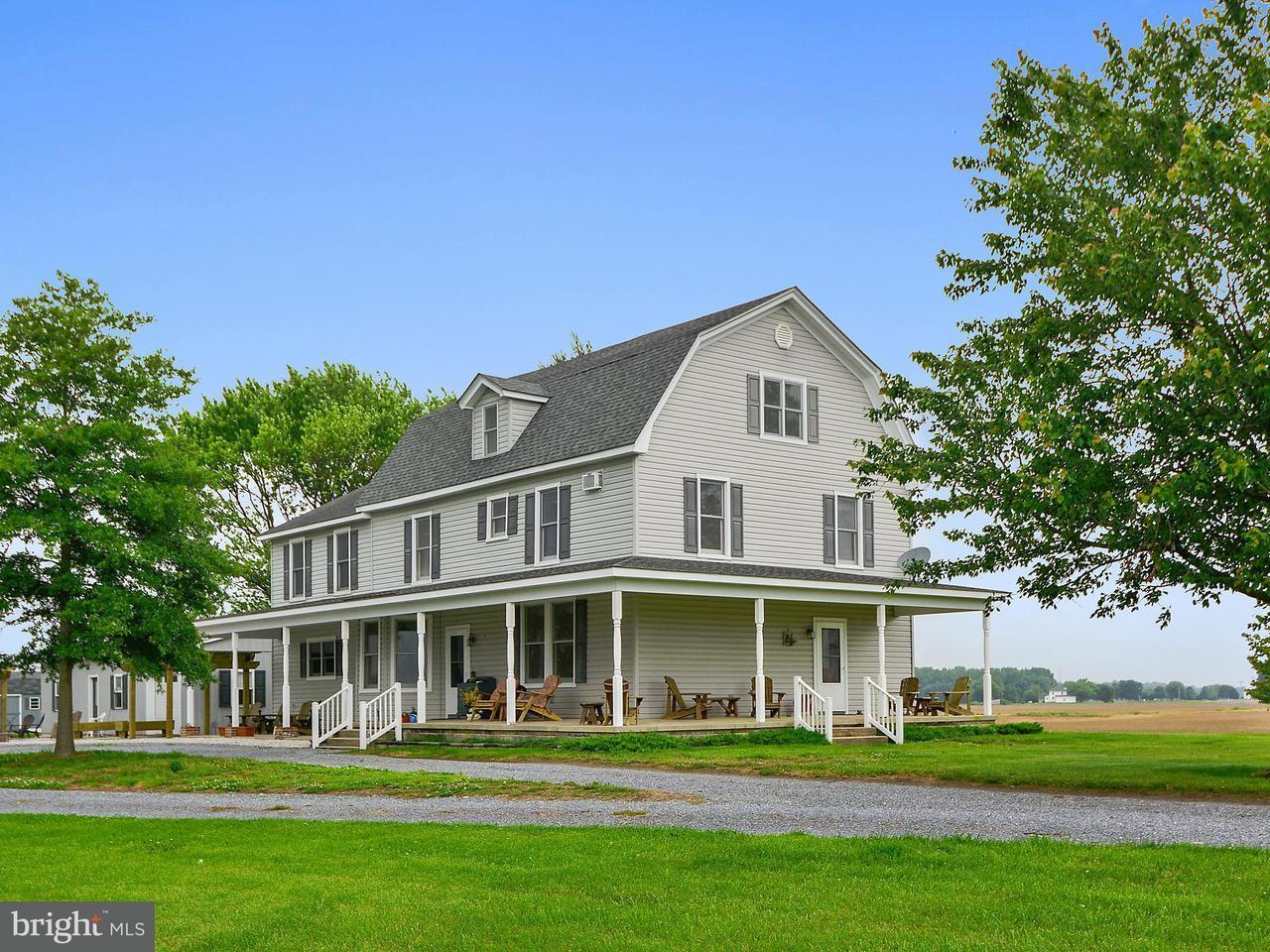 Maison unifamiliale pour l Vente à 10922 Chapel Road 10922 Chapel Road Cordova, Maryland 21625 États-Unis