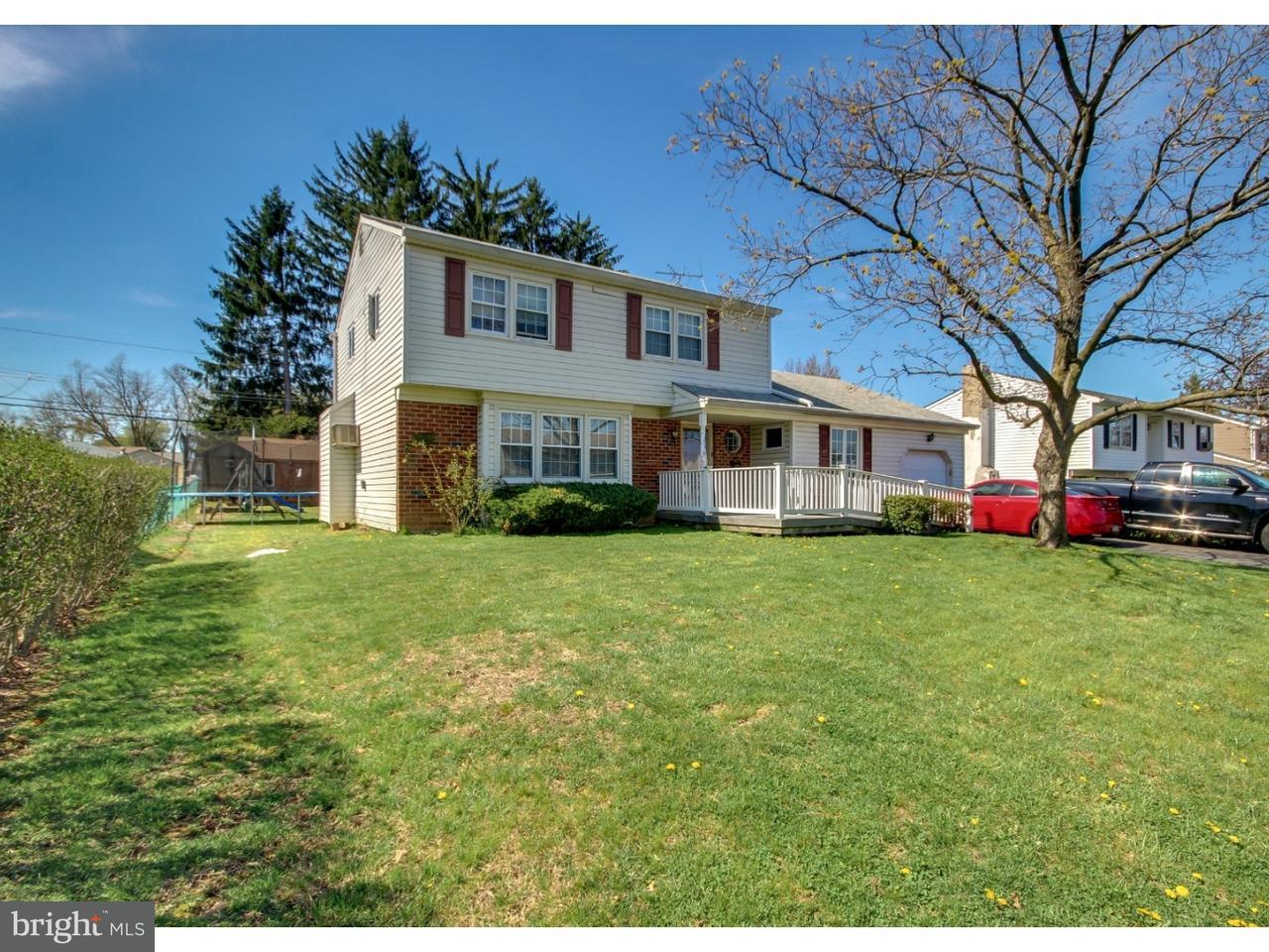 Casa Unifamiliar por un Venta en 236 WESTBURY Drive Warminster, Pennsylvania 18974 Estados Unidos