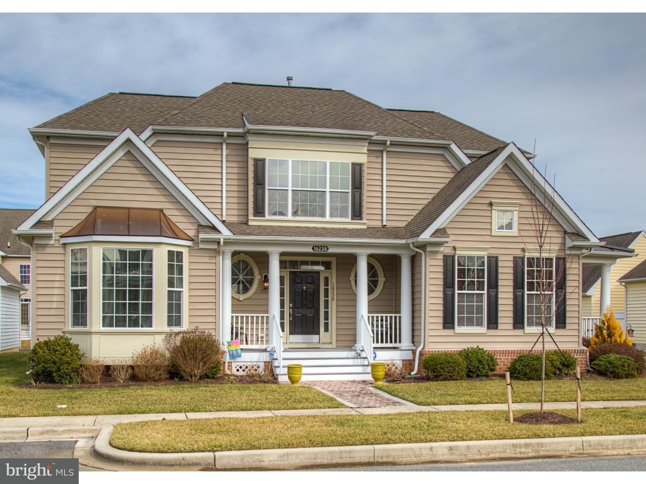 Maison unifamiliale pour l Vente à 16238 JOHN ROWLAND Trail Milton, Delaware 19968 États-Unis