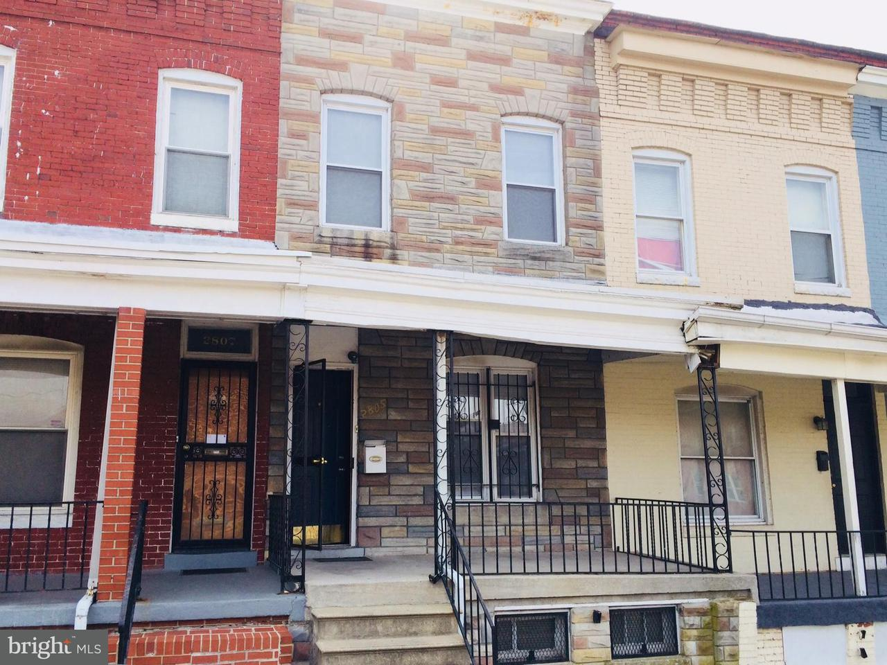 Single Family for Sale at 2805 Preston St E Baltimore, Maryland 21213 United States