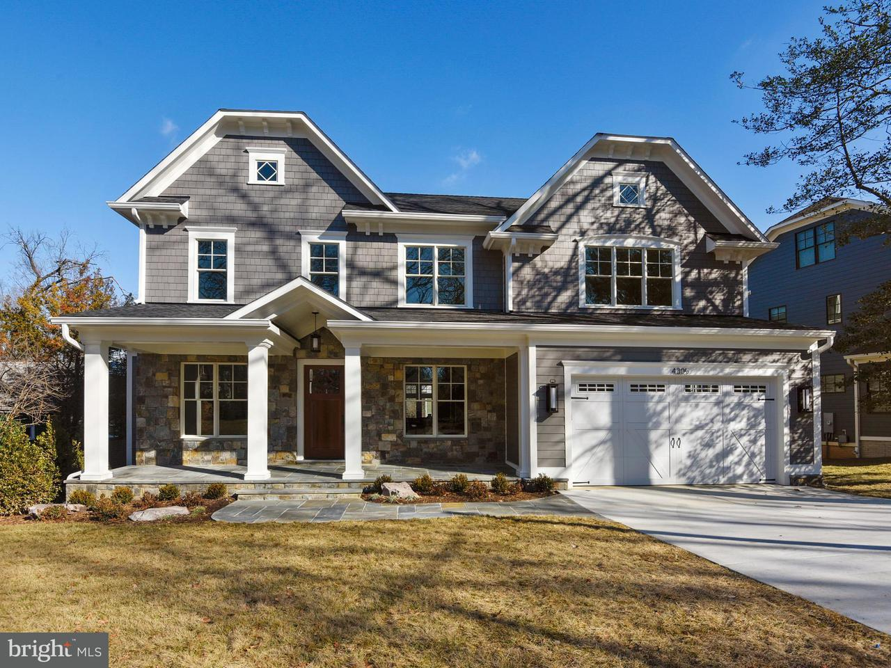 Single Family Home for Sale at 4305 Rosedale Avenue 4305 Rosedale Avenue Bethesda, Maryland 20814 United States
