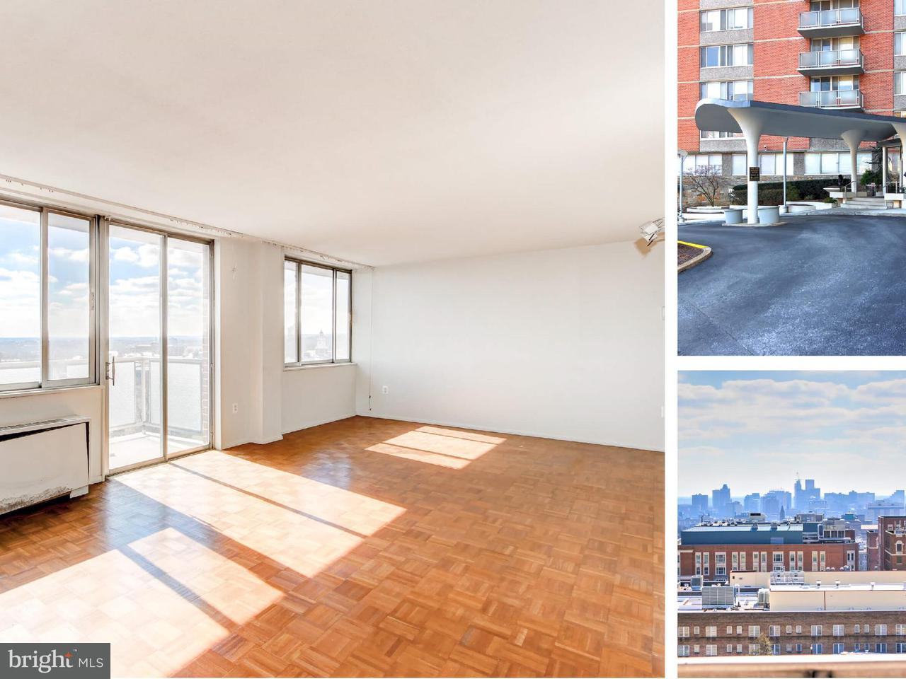 Condominium for Sale at 1 University Pkwy #1405 Baltimore, Maryland 21218 United States