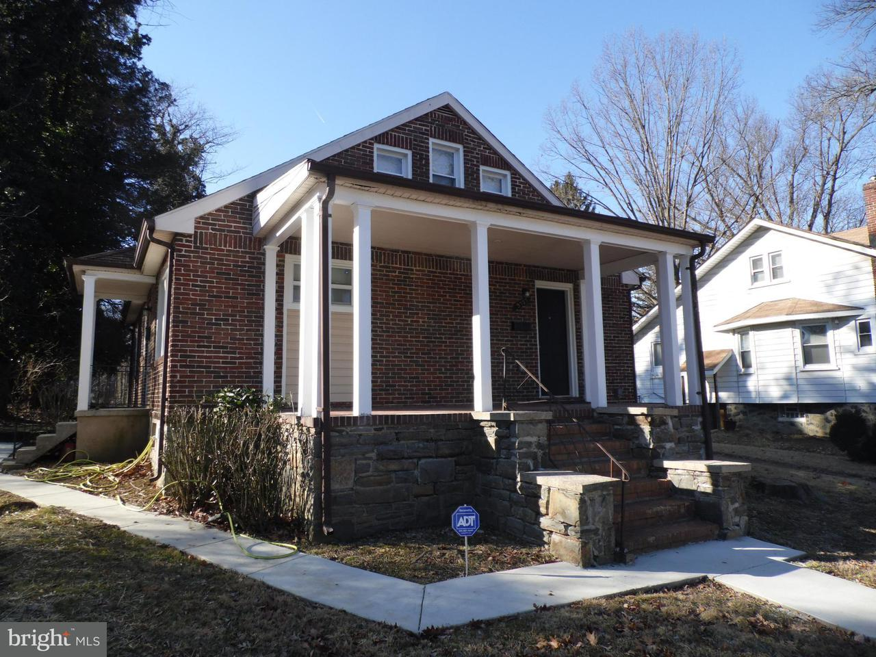 Single Family for Sale at 3727 Nortonia Rd Baltimore, Maryland 21216 United States