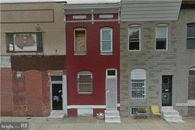 Single Family for Sale at 1404 Darley Ave Baltimore, Maryland 21213 United States