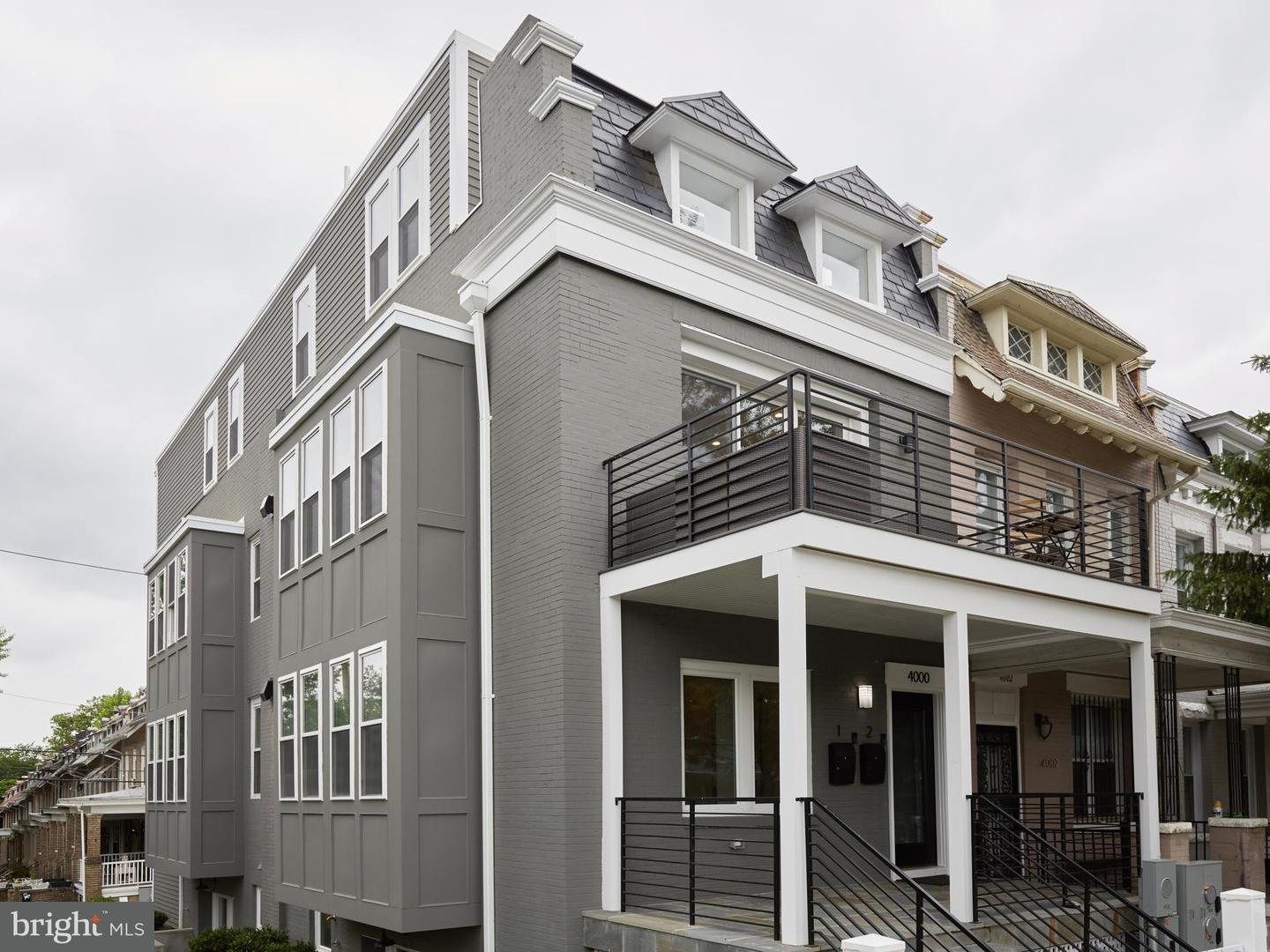 Single Family for Sale at 4000 14th NW #2 Washington, District Of Columbia 20011 United States