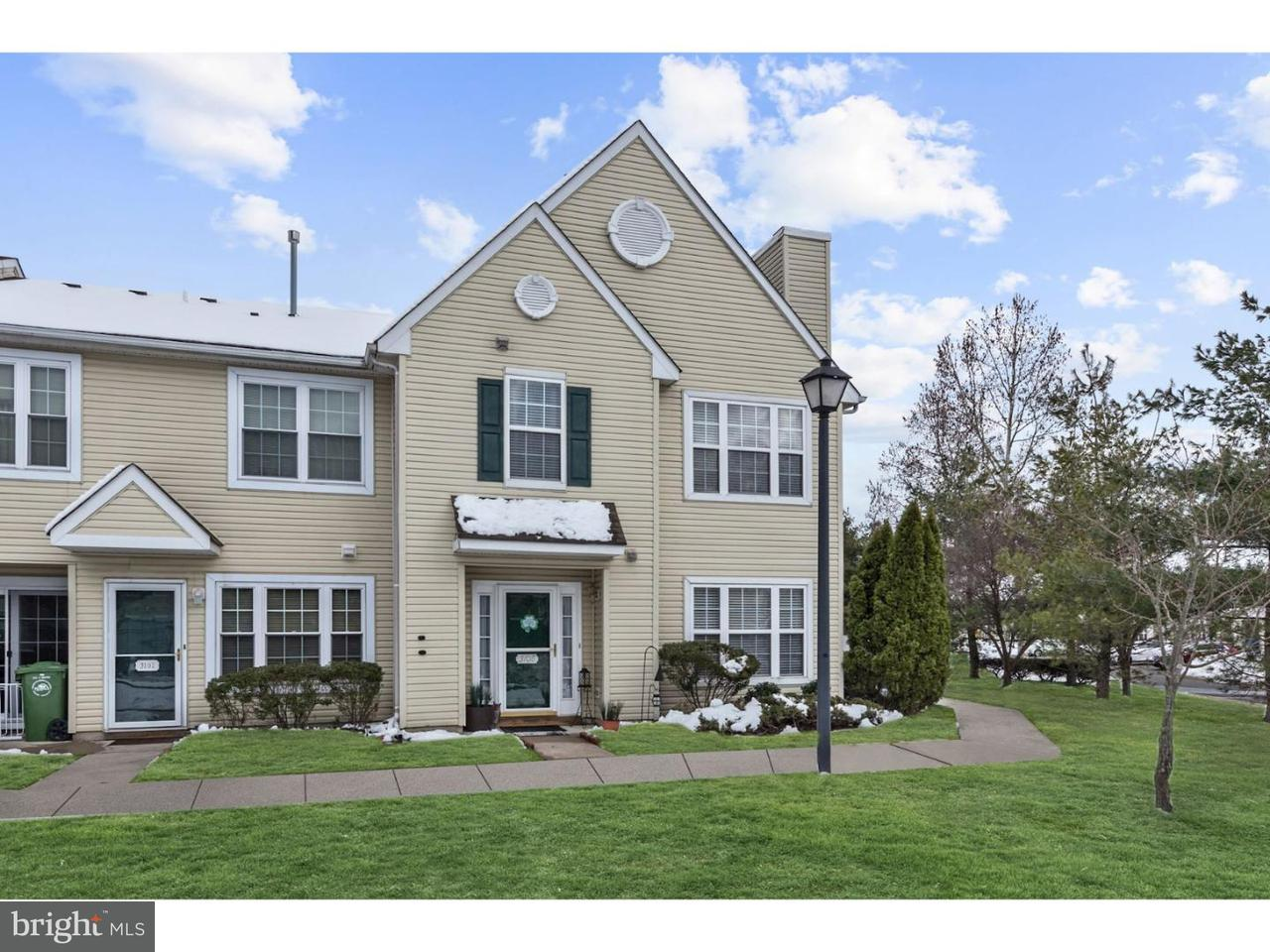 Townhouse for Sale at 3108 EBBTIDE Lane Palmyra, New Jersey 08065 United States