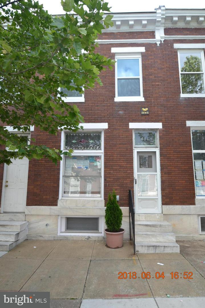Other Residential for Rent at 406 Linwood Ave N Baltimore, Maryland 21224 United States