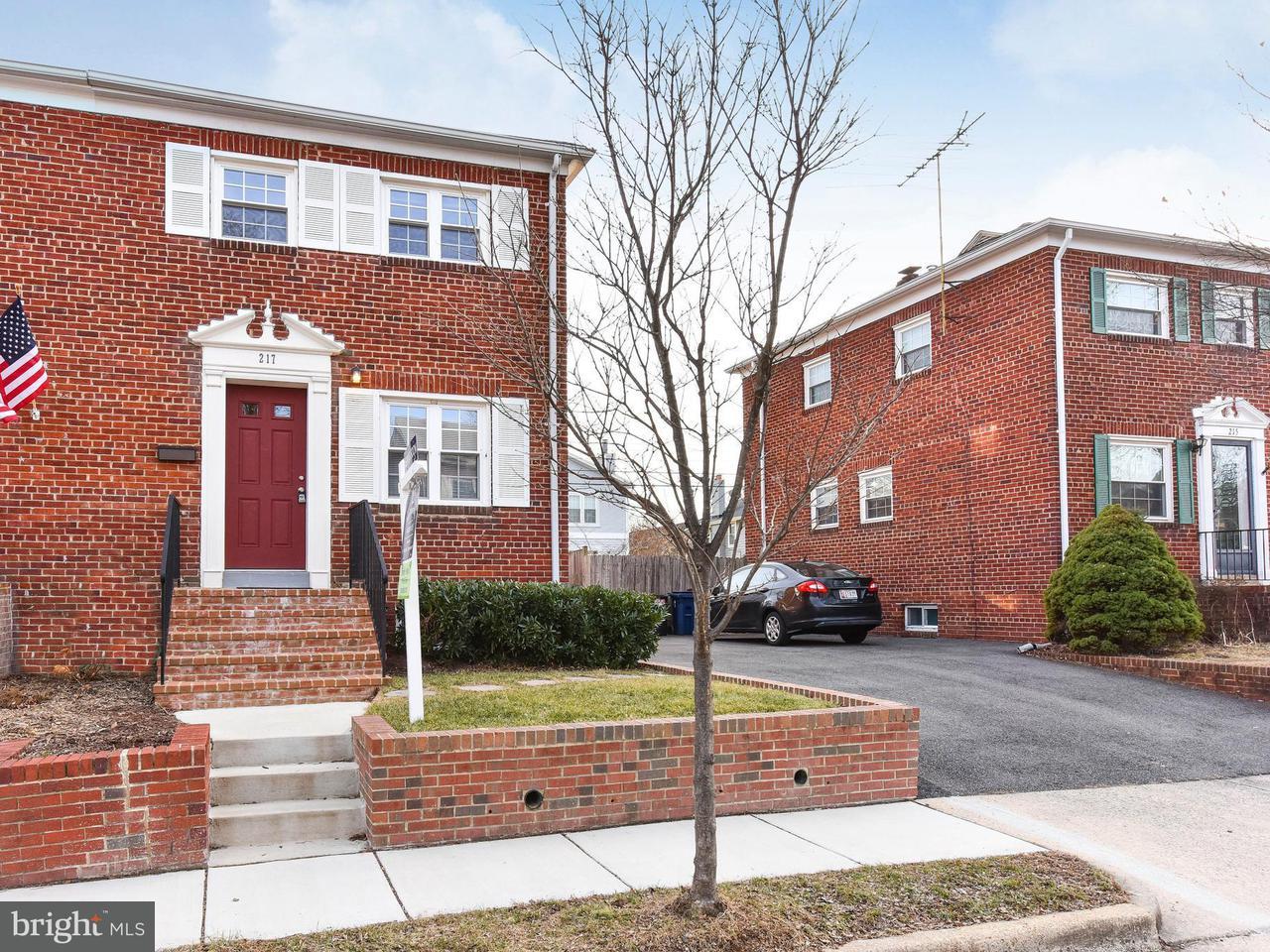 Doppelhaus für Verkauf beim 217 Adams Avenue 217 Adams Avenue Alexandria, Virginia 22301 Vereinigte Staaten