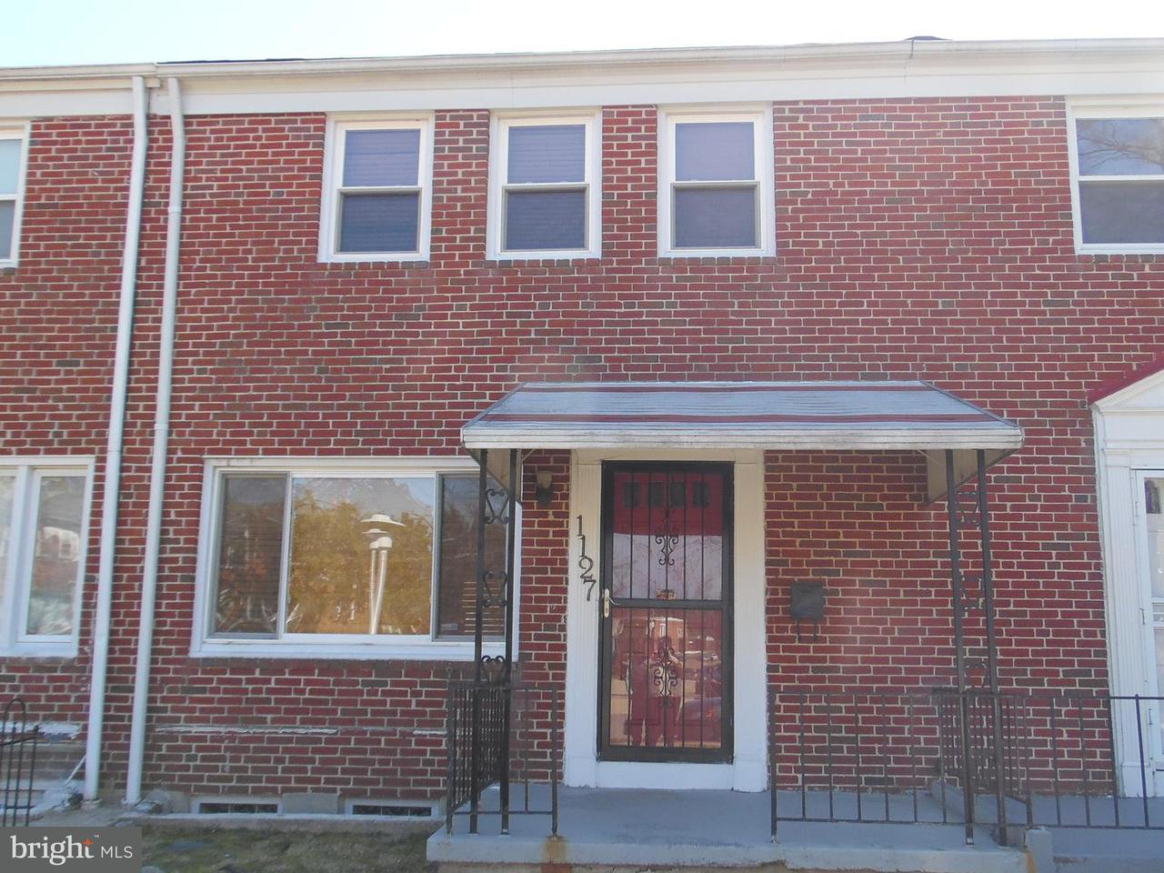 Single Family for Sale at 1127 Elbank Ave Baltimore, Maryland 21239 United States