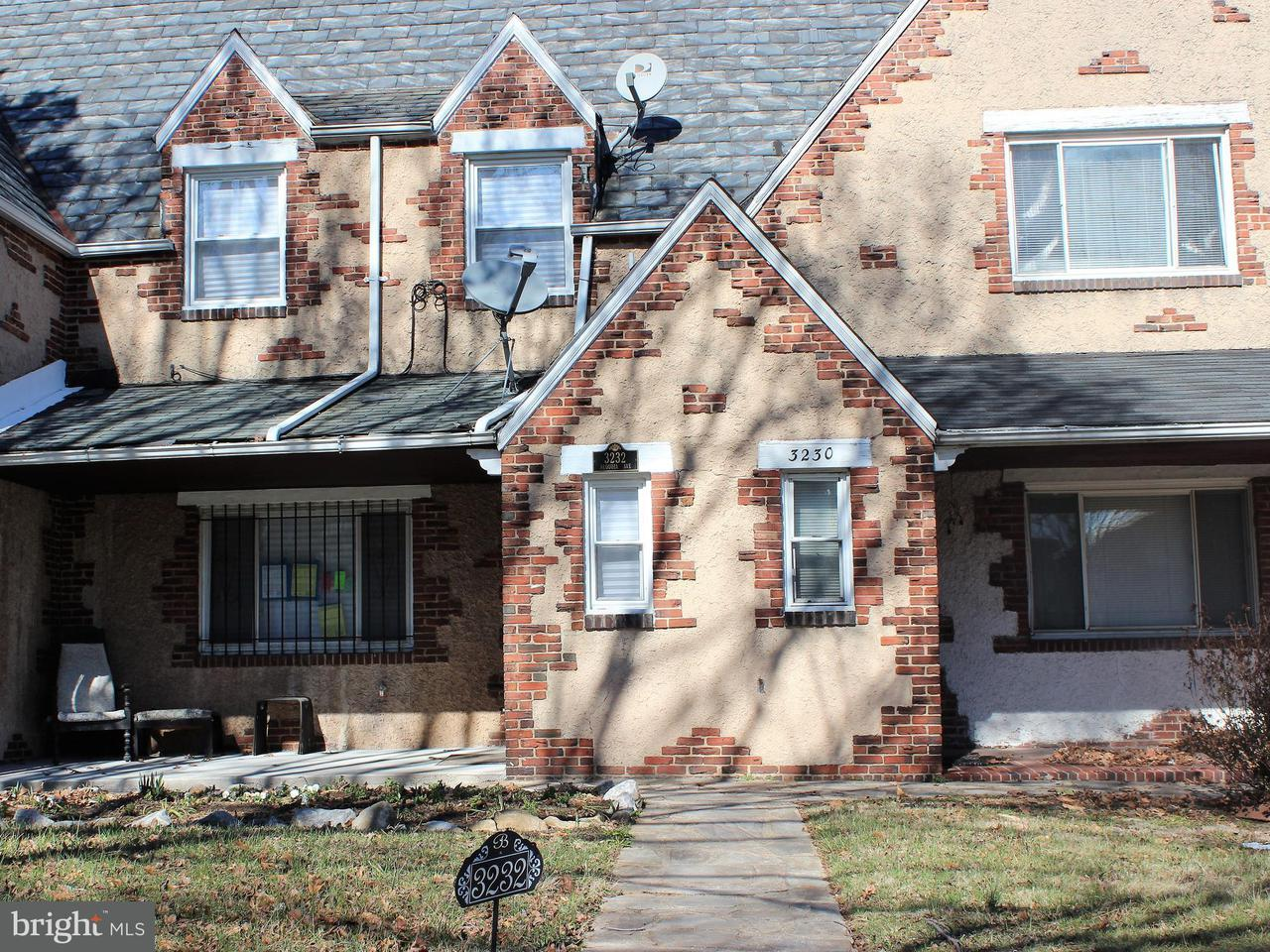Single Family for Sale at 3232 Sequoia Ave Baltimore, Maryland 21215 United States
