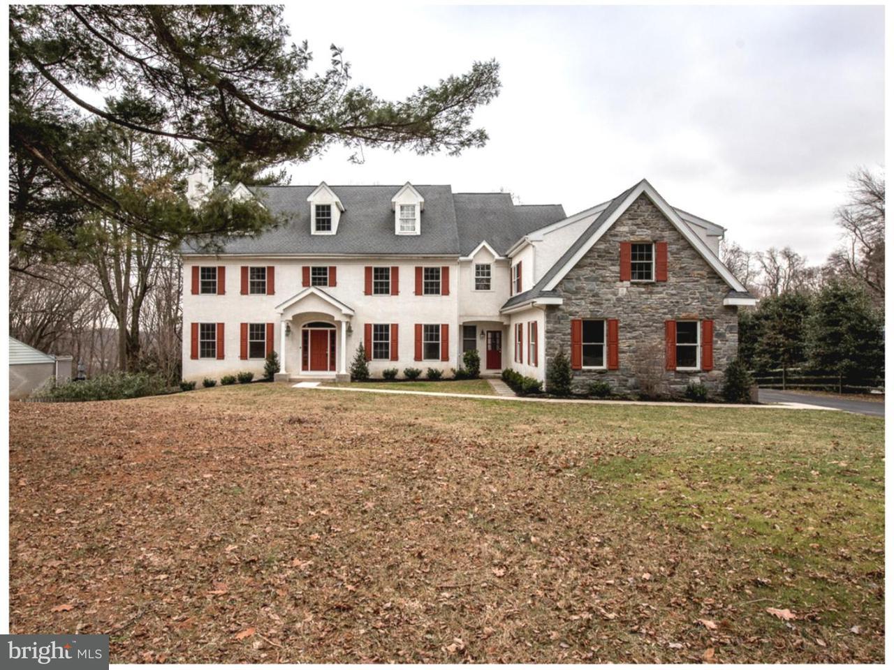 Casa Unifamiliar por un Venta en 437 HIDDEN RIVER Road Penn Valley, Pennsylvania 19072 Estados Unidos