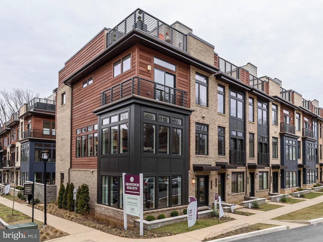 Townhouse for Sale at 5315 Merriam St #Marshall Model 5315 Merriam St #Marshall Model Bethesda, Maryland 20814 United States