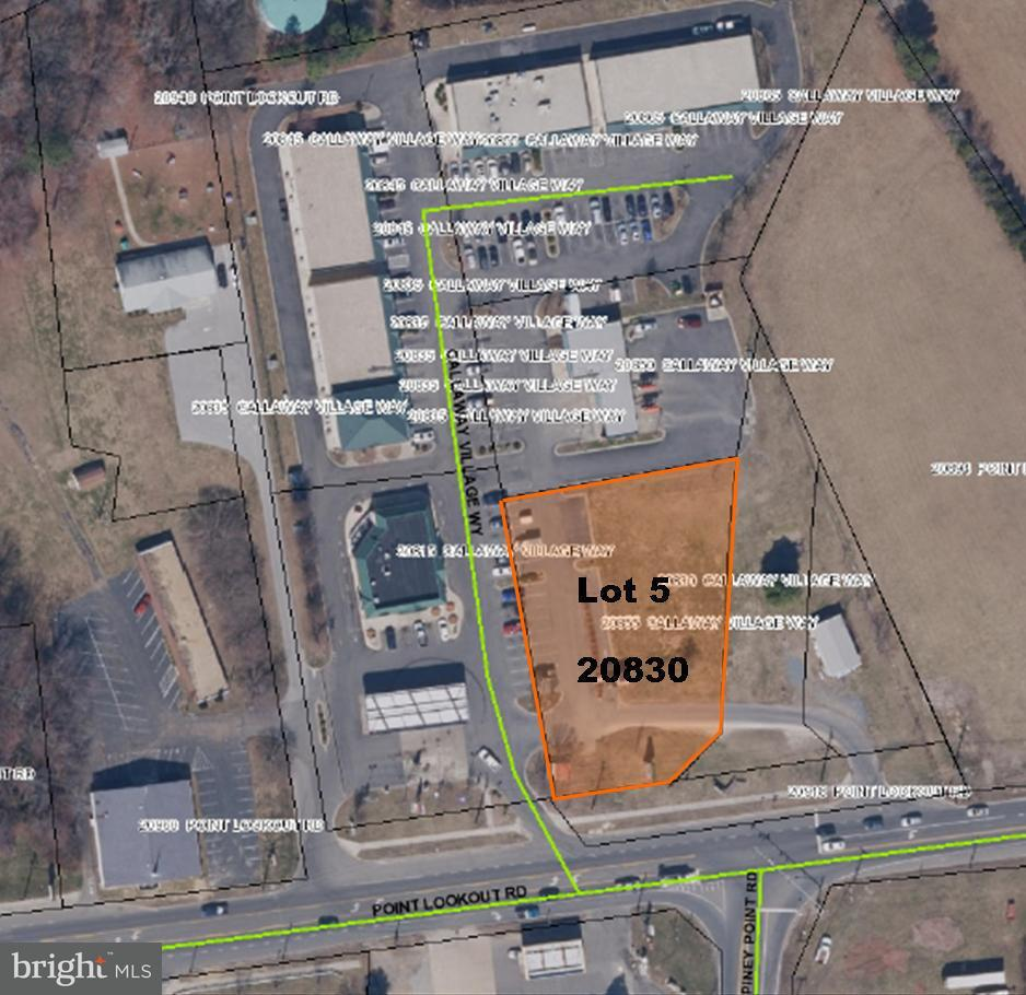 Land for Sale at 20830 Callaway Village Way Callaway, Maryland 20620 United States