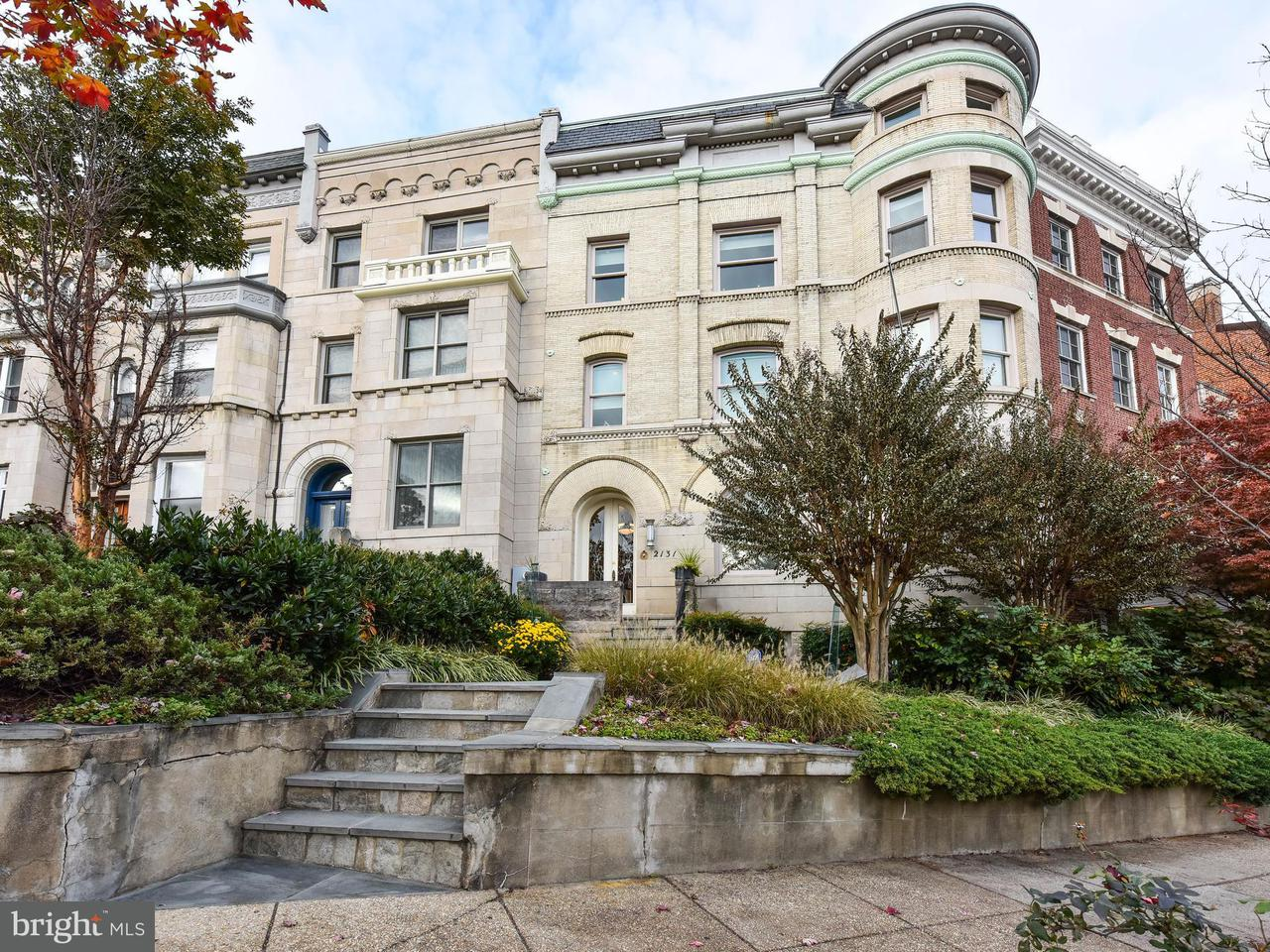 Townhouse for Sale at 2131 S St Nw 2131 S St Nw Washington, District Of Columbia 20008 United States