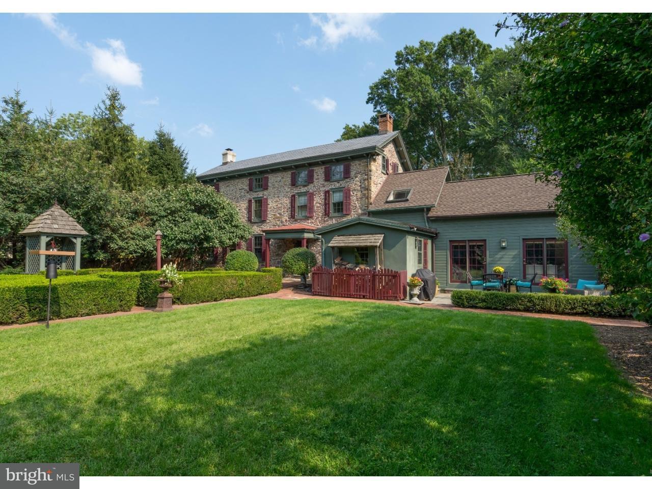 Частный односемейный дом для того Продажа на 3296 LOWER MOUNTAIN Road Furlong, Пенсильвания 18925 Соединенные Штаты