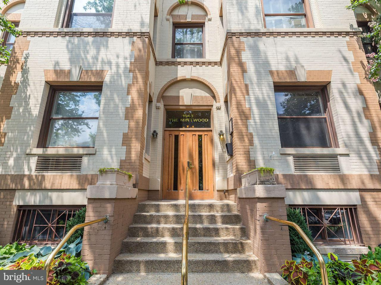 Condominium for Sale at 1843 Mintwood Pl Nw #205 1843 Mintwood Pl Nw #205 Washington, District Of Columbia 20009 United States