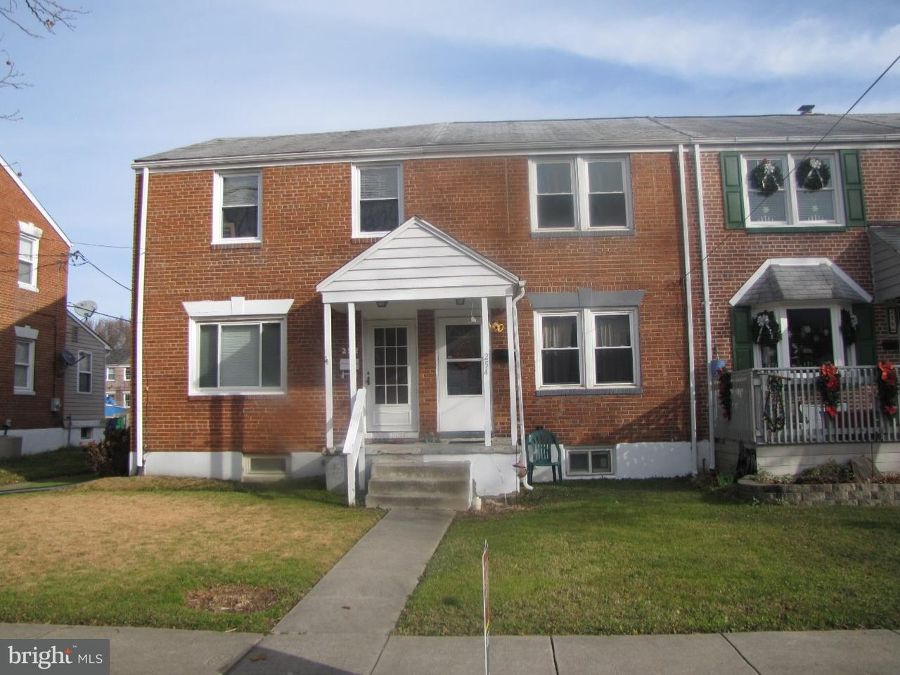 Townhouse for Sale at 254 BIRCH Avenue Elsmere, Delaware 19805 United States