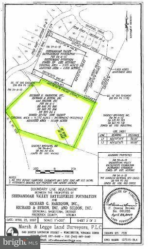 Land for Sale at 1132 Frederick Pike N Winchester, Virginia 22603 United States