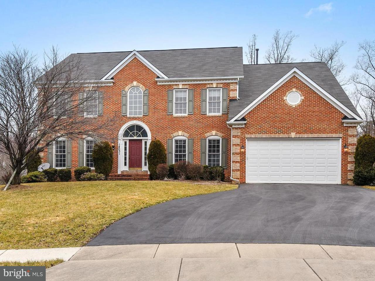 Single Family Home for Sale at 14031 Welland Ter 14031 Welland Ter North Potomac, Maryland 20878 United States