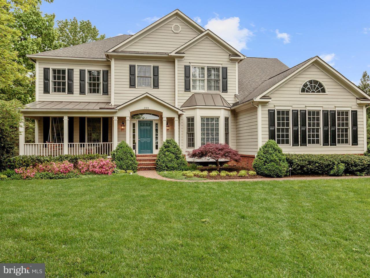 Частный односемейный дом для того Продажа на 2103 Powhatan Street 2103 Powhatan Street Falls Church, Виргиния 22043 Соединенные Штаты
