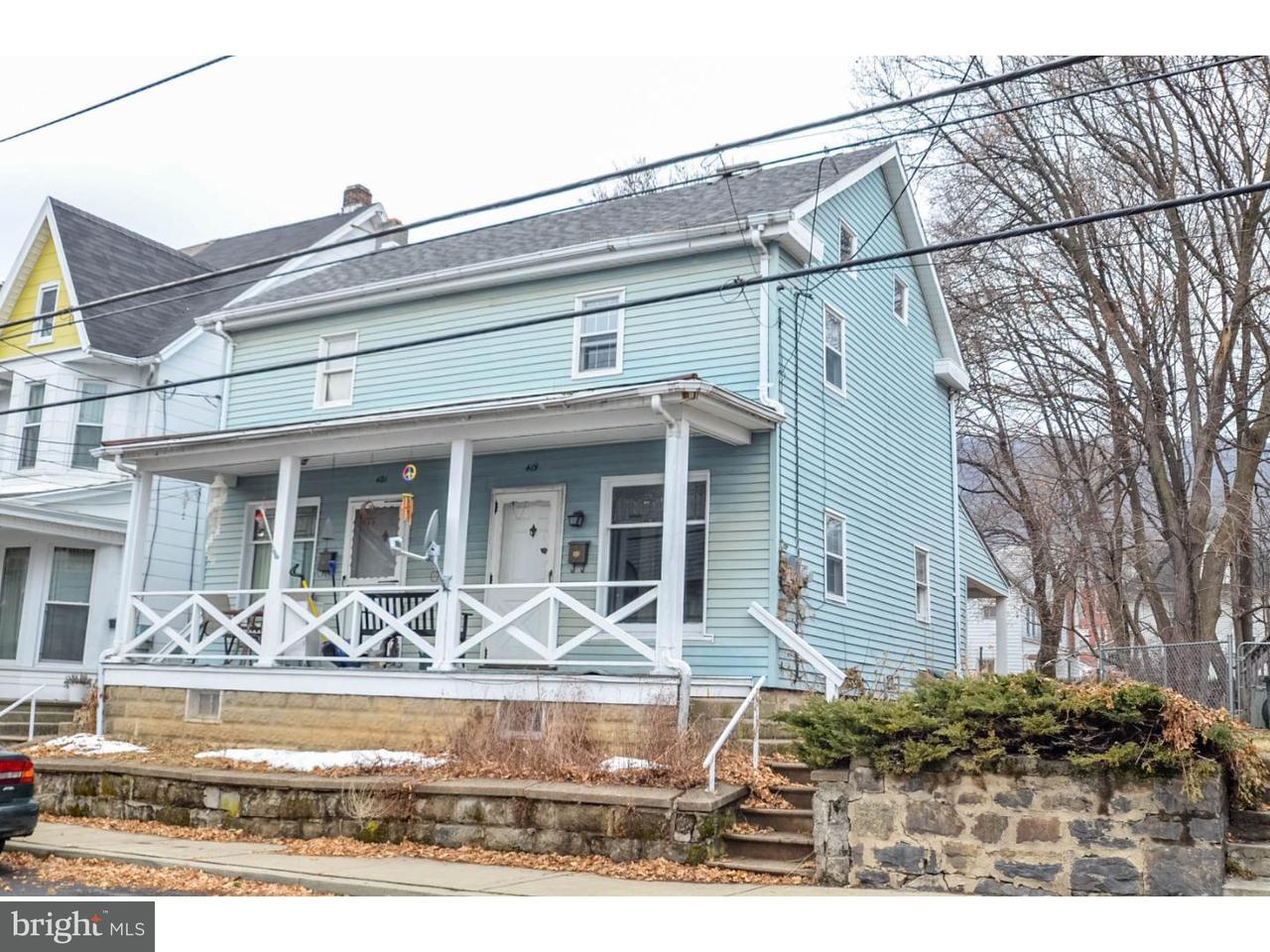 Duplex pour l Vente à 419-421 GEORGE Street Pen Argyl, Pennsylvanie 18072 États-Unis