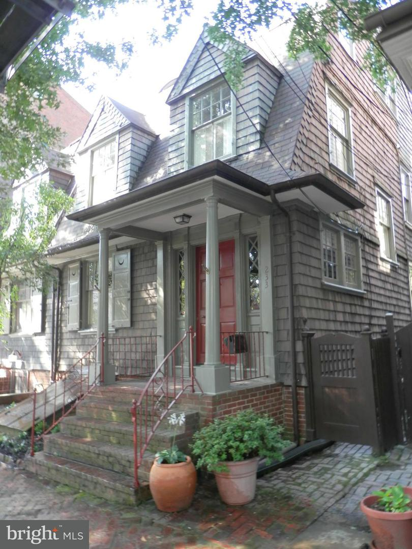Single Family for Sale at 233 Prince George St Annapolis, Maryland 21401 United States