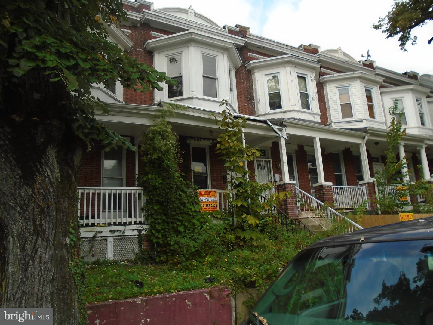 Single Family for Sale at 1526 Ellamont St N Baltimore, Maryland 21216 United States