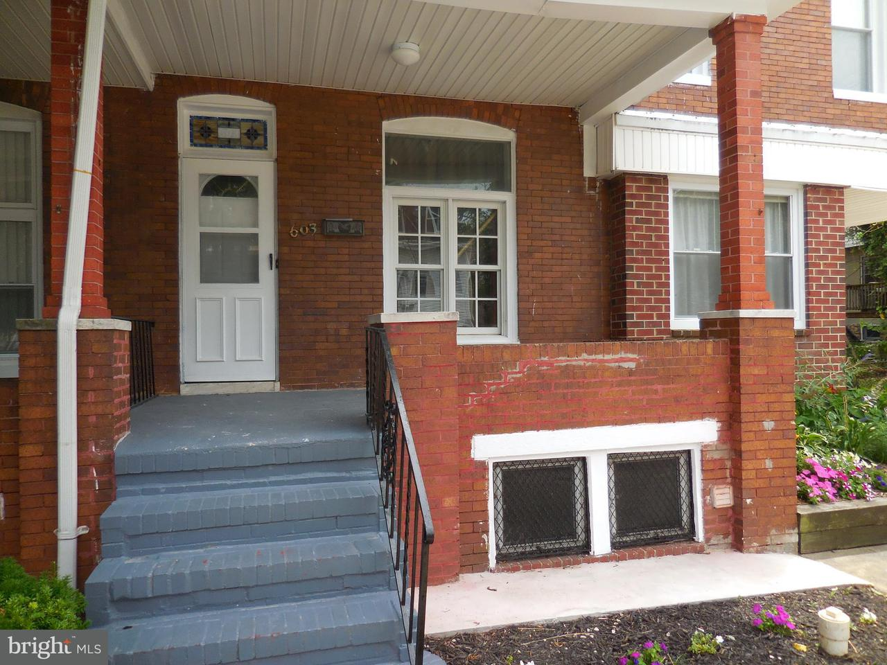 Single Family for Sale at 603 36th St Baltimore, Maryland 21218 United States