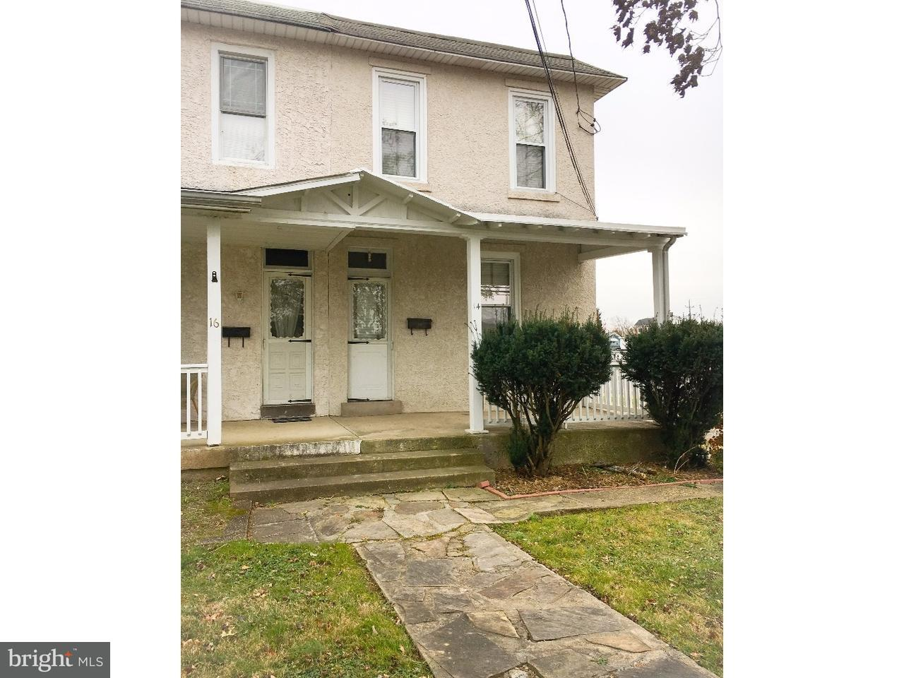 Casa unifamiliar adosada (Townhouse) por un Alquiler en 14 N SCHUYLKILL Avenue Eagleville, Pennsylvania 19403 Estados Unidos