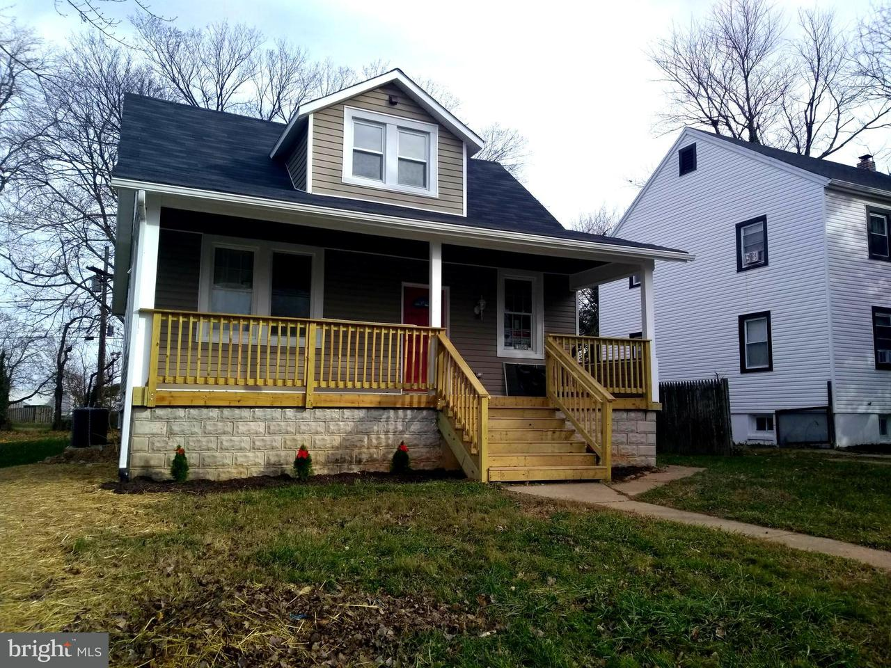Single Family for Sale at 4108 Wilke Ave Baltimore, Maryland 21206 United States