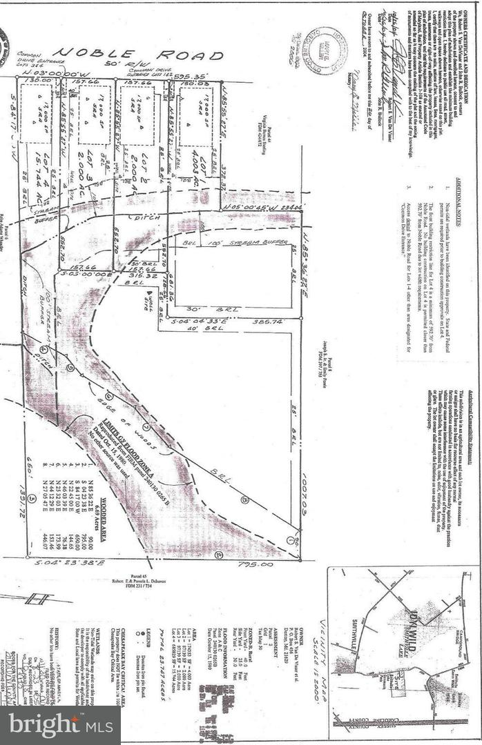 Land for Sale at Noble Rd Federalsburg, Maryland 21632 United States