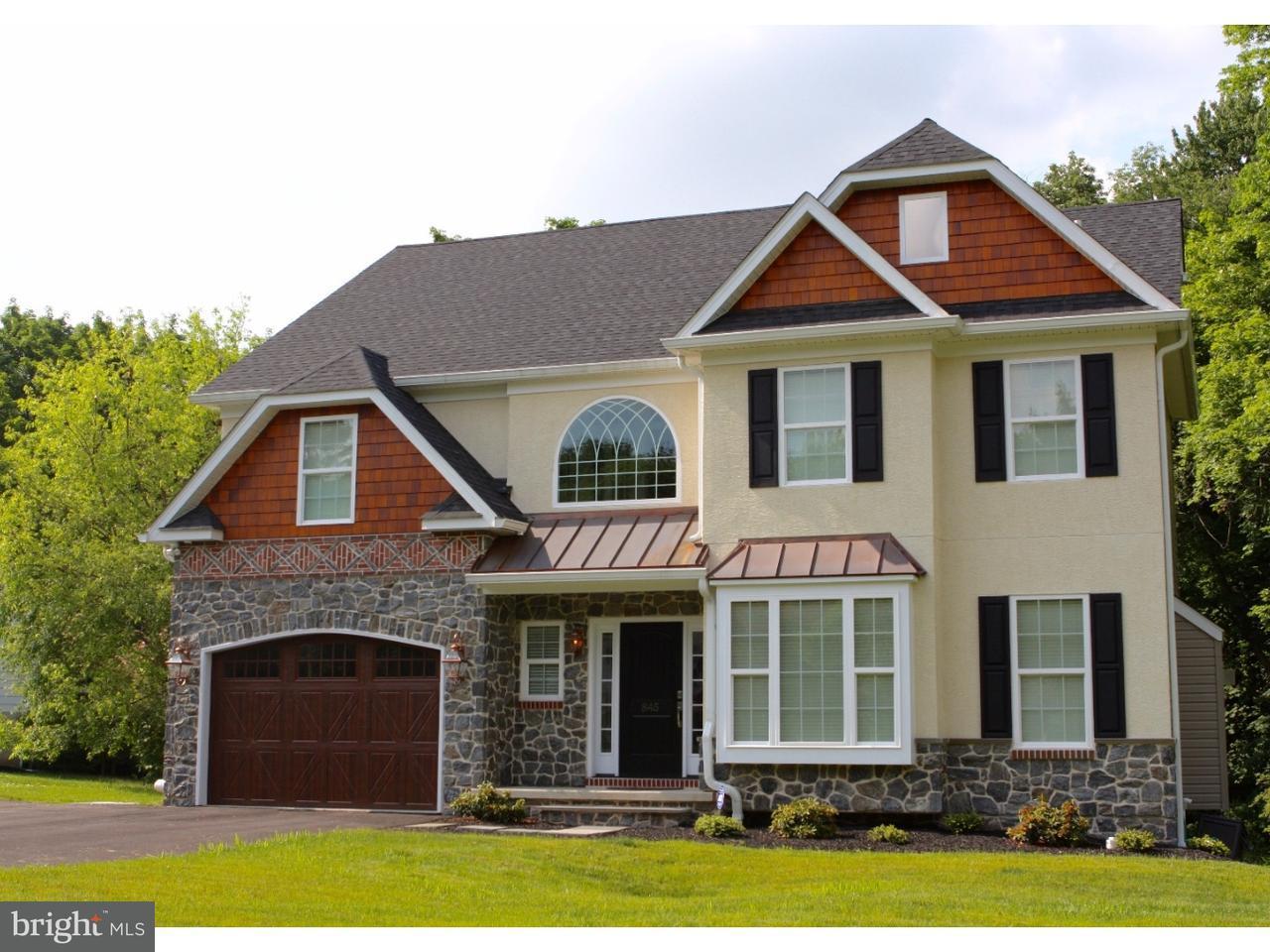 Maison unifamiliale pour l Vente à 845 E PHILIP Drive Phoenixville, Pennsylvanie 19460 États-Unis