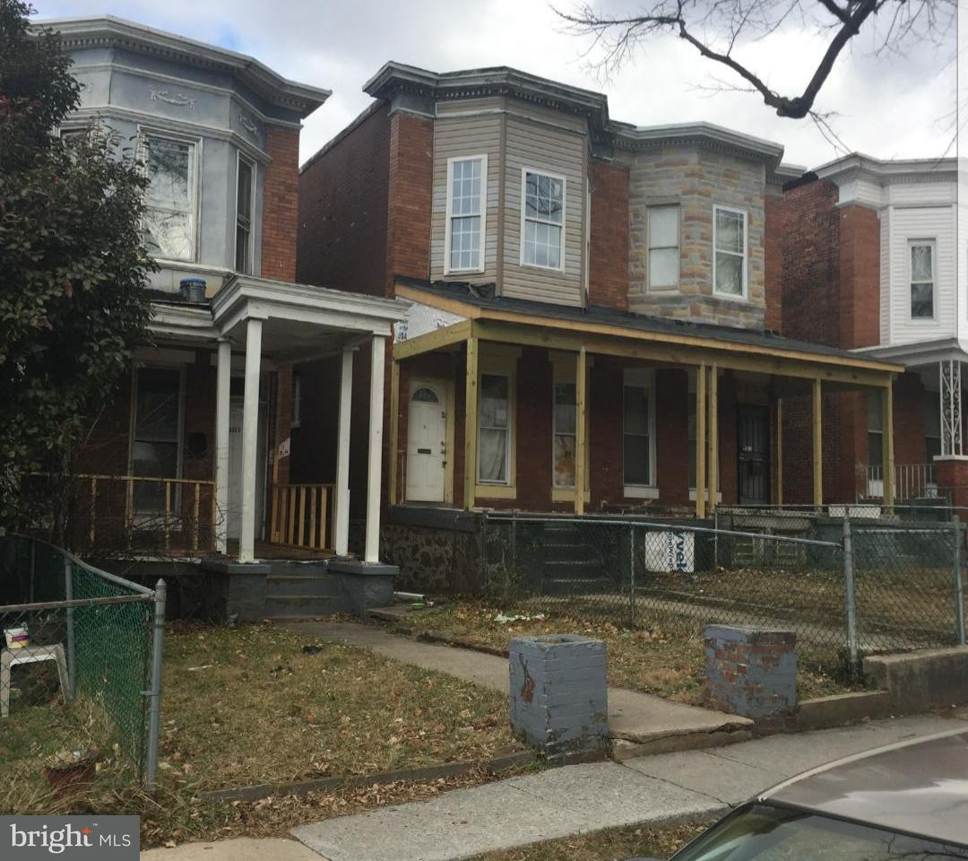 Single Family for Sale at 3024 Belmont Ave Baltimore, Maryland 21216 United States