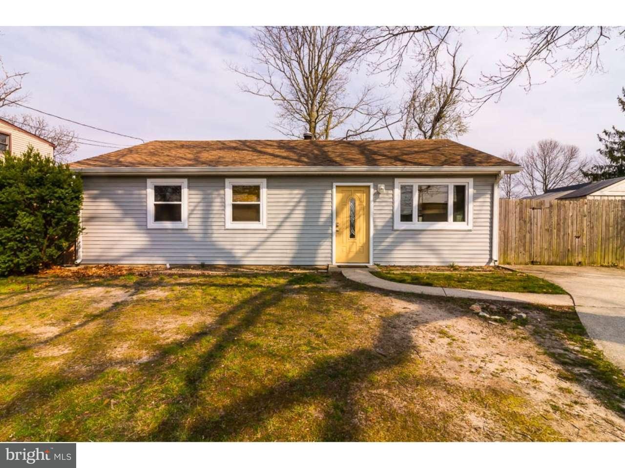 Maison unifamiliale pour l Vente à 4 LINCOLN Avenue Erial, New Jersey 08081 États-Unis