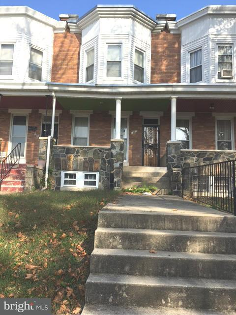 Single Family for Sale at 3442 Piedmont Ave Baltimore, Maryland 21216 United States