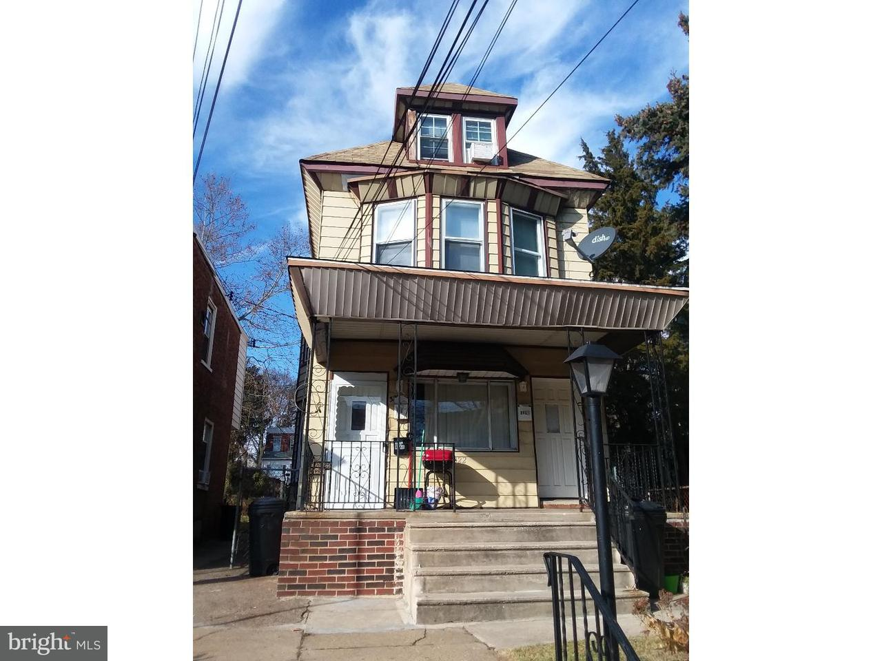 Triplex for Sale at 322 S 5TH Street Darby, Pennsylvania 19023 United States