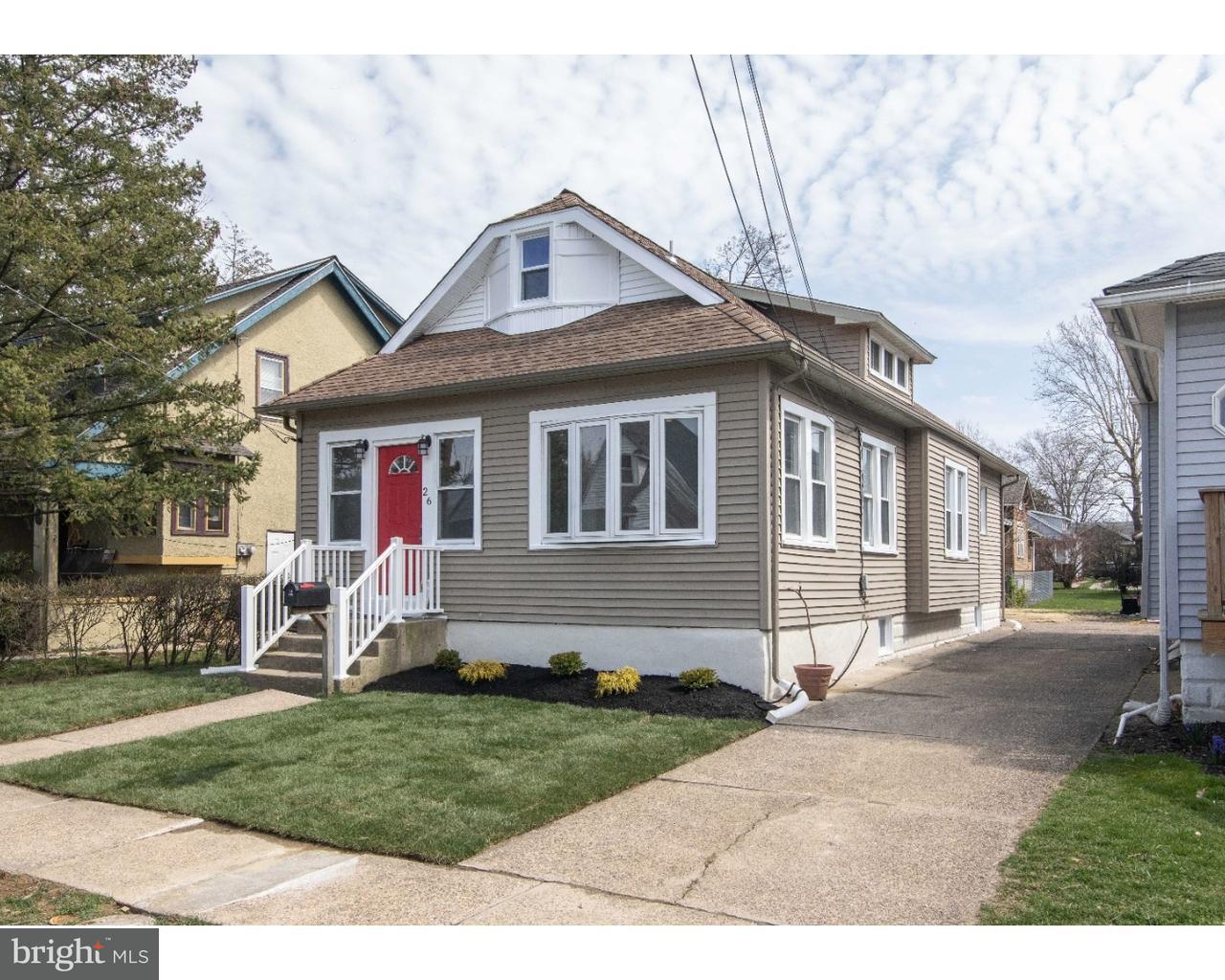 Casa Unifamiliar por un Venta en 26 E OAKLAND Avenue Oaklyn, Nueva Jersey 08107 Estados Unidos