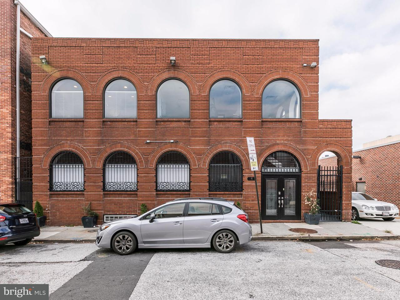 Commercial for Sale at 4 Exeter St N Baltimore, Maryland 21202 United States