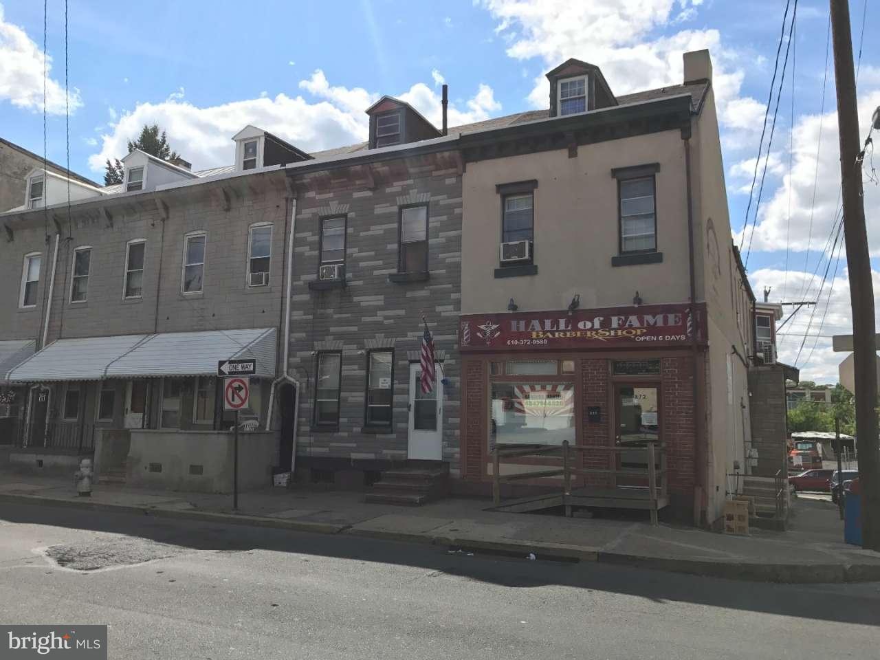 独户住宅 为 销售 在 872 N 8TH Street 雷丁, 宾夕法尼亚州 19604 美国