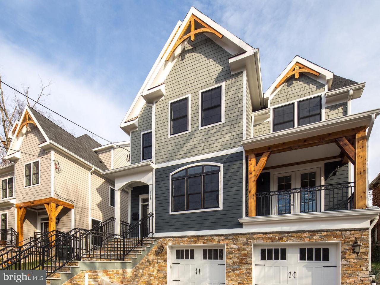 Maison unifamiliale pour l Vente à 5363 29th St Nw 5363 29th St Nw Washington, District De Columbia 20015 États-Unis