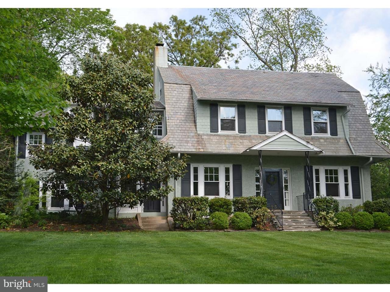 Single Family Home for Sale at 115 OGDEN Avenue Swarthmore, Pennsylvania 19081 United States