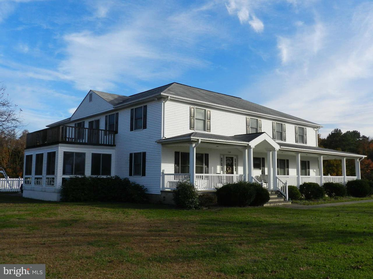Single Family for Sale at 168 Church Point Ln Colonial Beach, Virginia 22443 United States
